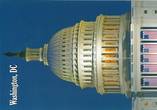 24x Postcard Of United States Capitol Smithsonian Institution