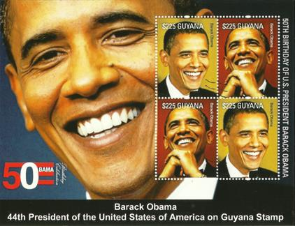 30x President Barack Obama, 50th Birthday (Slightly Damaged)