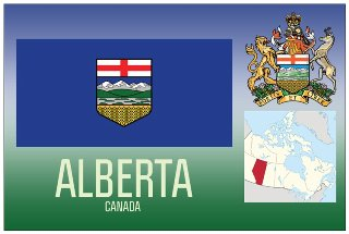 12 (1 Dozen OF The Same Design) Postcard of ALBERTA- Canada