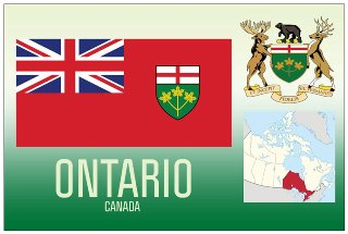 12 (1 Dozen OF The Same Design) Postcard of ONTARIO- Canada