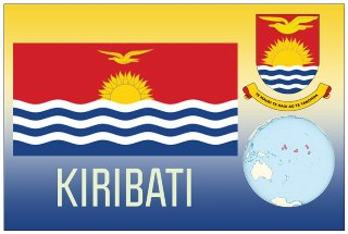 12 (1 Dozen OF The Same Design) Postcard of KIRIBATI