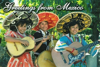 26x Postcard Greetings From Mexico.
